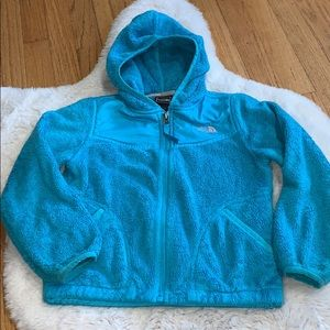 The north face zipper up